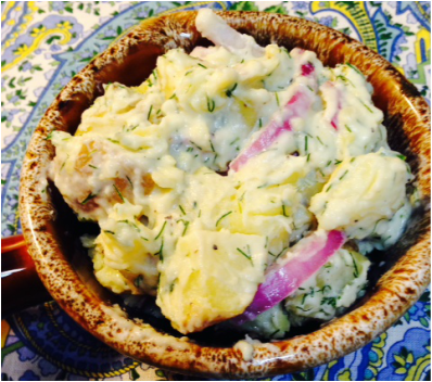 Potato Salad With Goat Yogurt And Dill