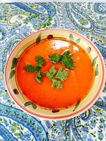 Carrot -Ginger Soup