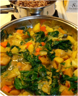 Recipe: Vegetable Curry