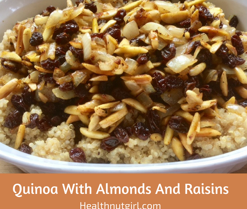 Quinoa With Almonds And Raisins