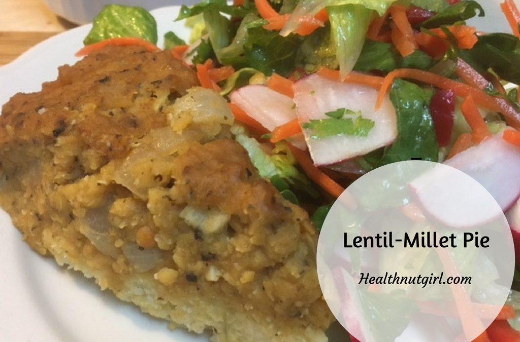 Lentil-Millet Pie