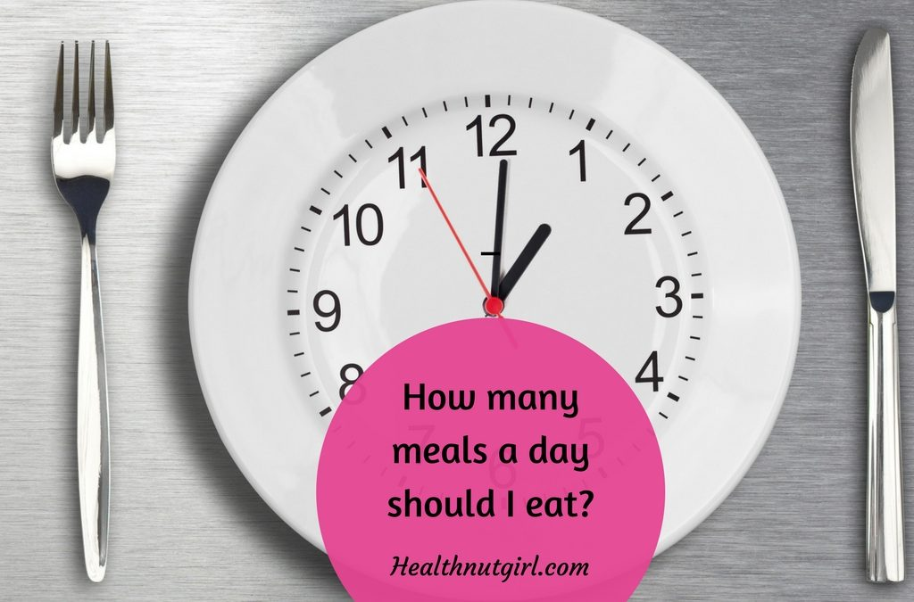 How many meals a day should I eat?