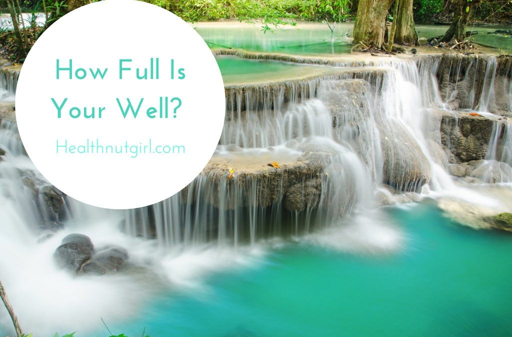 How Full Is Your Well?