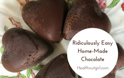 Ridiculously Easy Home-Made Chocolate