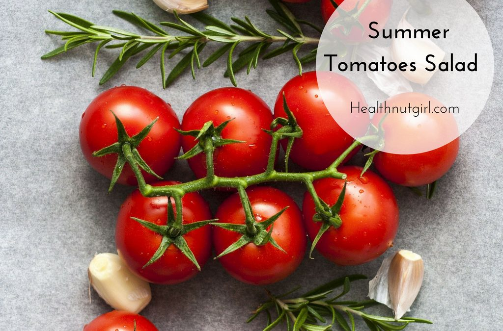Summer Tomatoes Salad