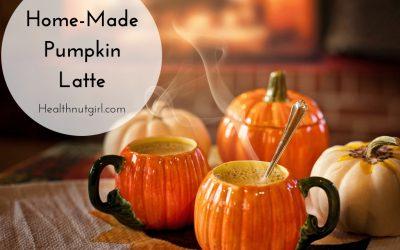 Home-Made Pumpkin Latte