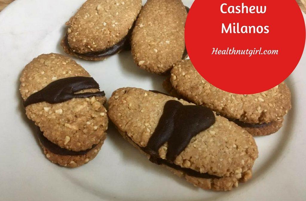 Cashew Milano Cookies