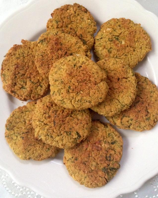 Baked Falafel Patties