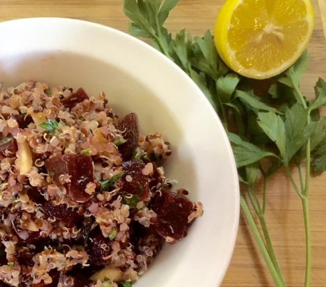 Herbed Quinoa Salad With Beets