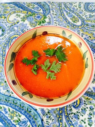 Carrot -Ginger Soup
