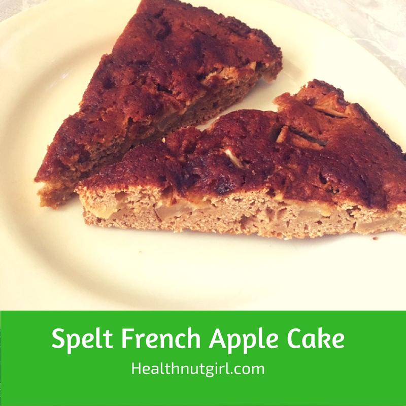 Spelt French Apple Cake