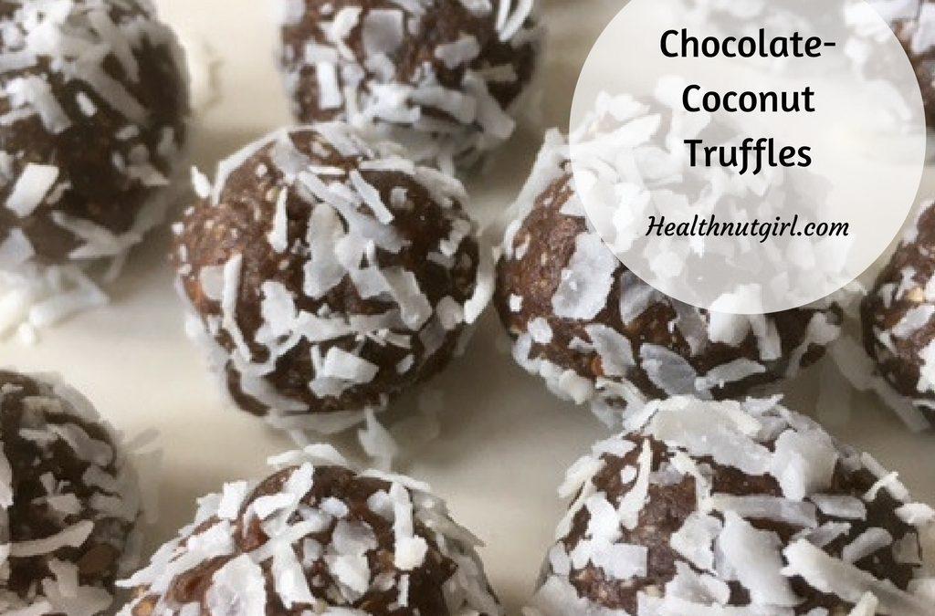 Chocolate-Coconut Truffles