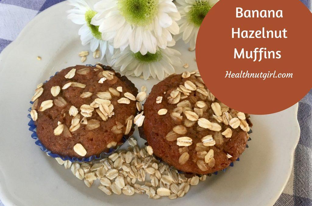 Banana Hazelnut Muffin