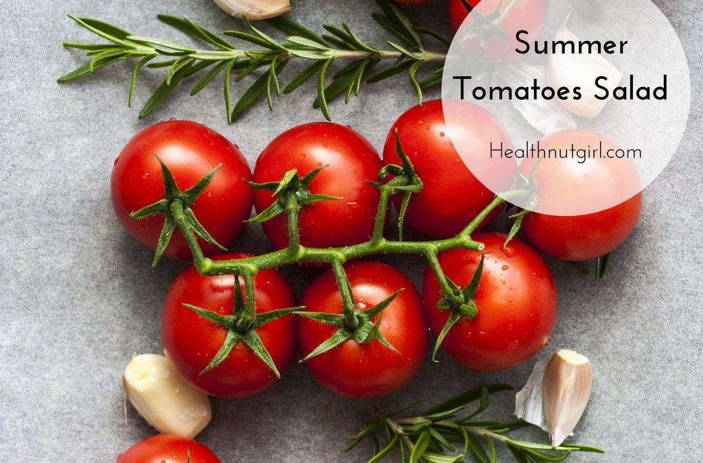 Summer Tomatoes Salad