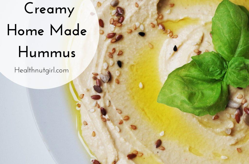 Creamy Home Made Hummus